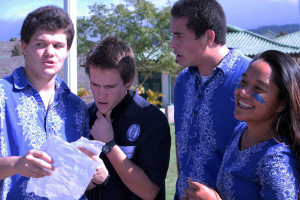 Lopes's Amazing Race brings students together
