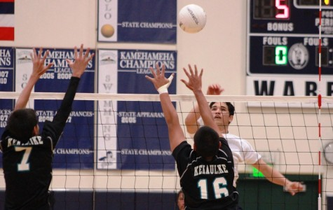 Boys volleyball keeps steady lead, bests Nā Aliʻi