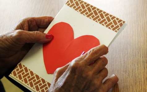 Drama Club makes elderly's Valentine's Days