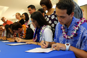 Six more student-athletes sign letters of intent