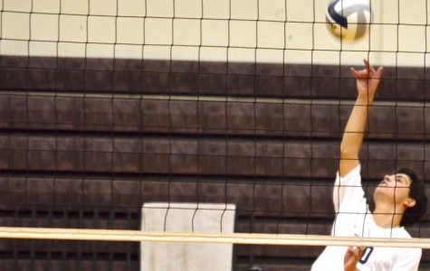 Baldwin tops young Warriors, 3-2, in boys volleyball