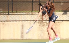 Senior night brings loss for tennis