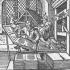 Gutenberg's printing press, 1448.